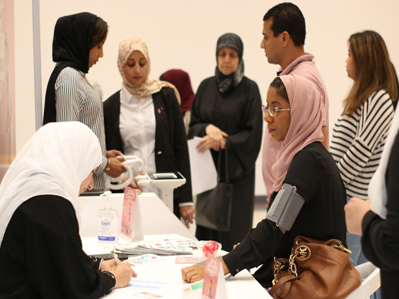 More than 800 women act for heart health and get tested during Majid Al Futtaim's 'Feel the Beat' annual initiative at City Centre Muscat, City Centre Qurum and My City Centre Sur